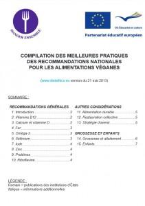 Meilleures recomandations institutionnelles mondiales